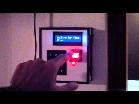 R305 Based Fingerprint Security System Doovi