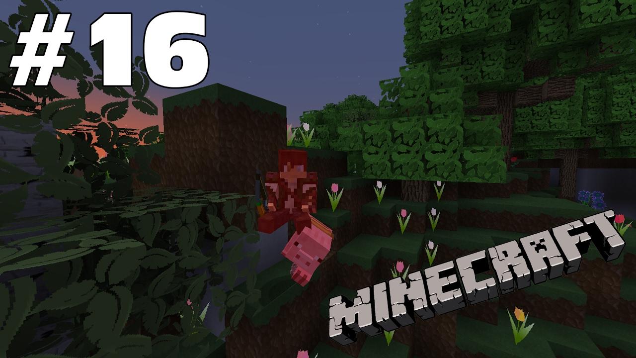 When Pigs Fly - #16 - Minecraft: Vanilla 1.11 - YouTube