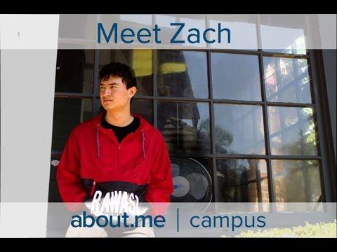 about.me   campus - Meet Zach.