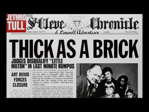 Jethro Tull   Thick as a Brick mp3