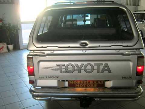 2004 Toyota Hilux 3 0kz Te Raider 4x4 P U D C Auto For Sale On