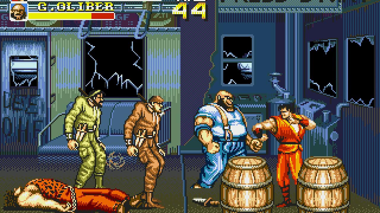 Image result for final fight sega cd gameplay