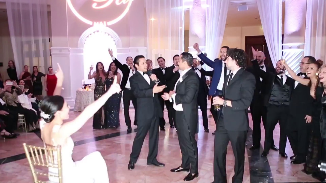 Groom Surprises Bride With Hamilton The Musical Inspired Performance