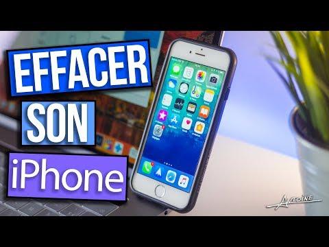 Comment effacer complètement son iPhone !
