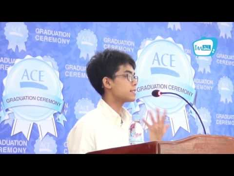 Speech by Reth Panhavoan, ACE GEP Student