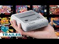 NINTENDO SNES CLASSIC MINI Games Trailer (2017) SNES Mini
