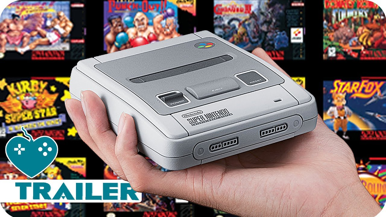 NINTENDO SNES CLASSIC MINI Games Trailer (2017) SNES Mini - YouTube