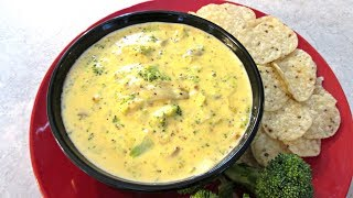 Broccoli and Cheese Dip - Speedy Cooking Videos - PoorMansGourmet