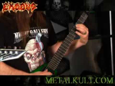 Exodus-No Love Guitar Lesson