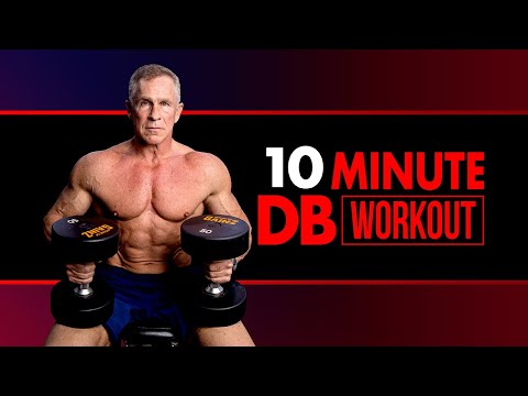 10 MINUTE Total Body Dumbbell Workout!