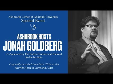 Jonah Goldberg Speaks at Ashbrook Event in Cleveland