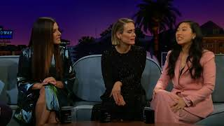 Sandra Bullock, Sarah Paulson & Awkwafina's Secret Skills Korean Sub