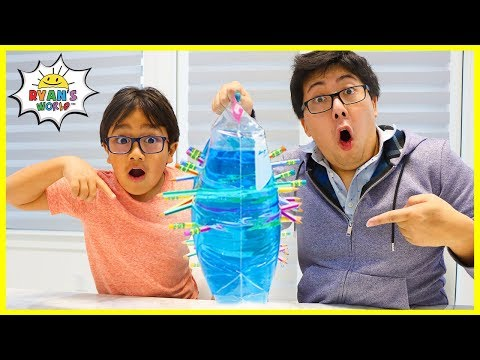 Easy DIY Science Experiments Leak Proof Bag with Pencil!!