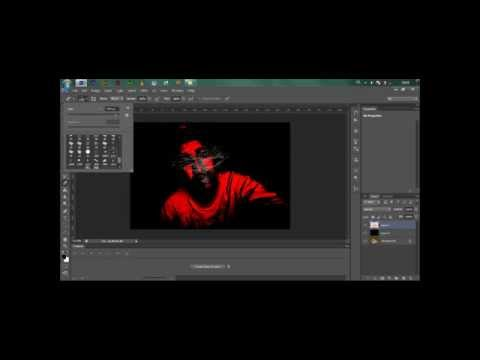 Speed art - Grunge Print Effect by Ayman Rahouhi (HD PHOTOSHOP CS6 TUTORIAL)