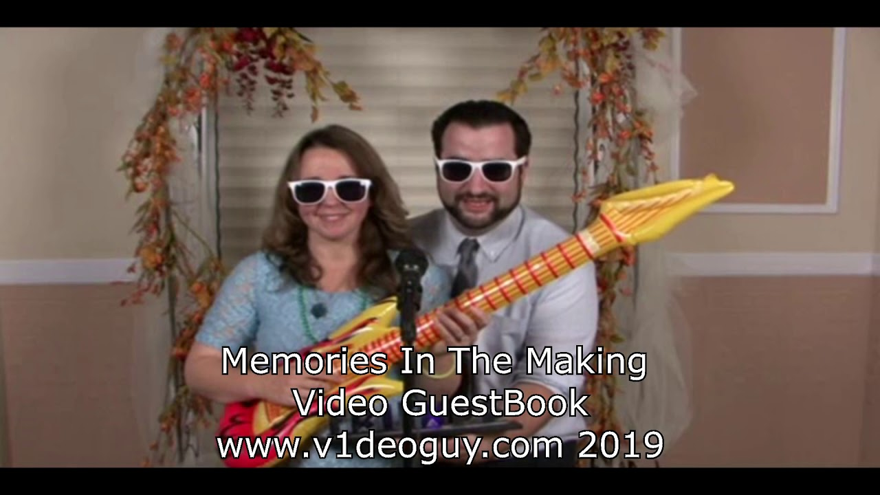 2019 Video GuestBook no background option