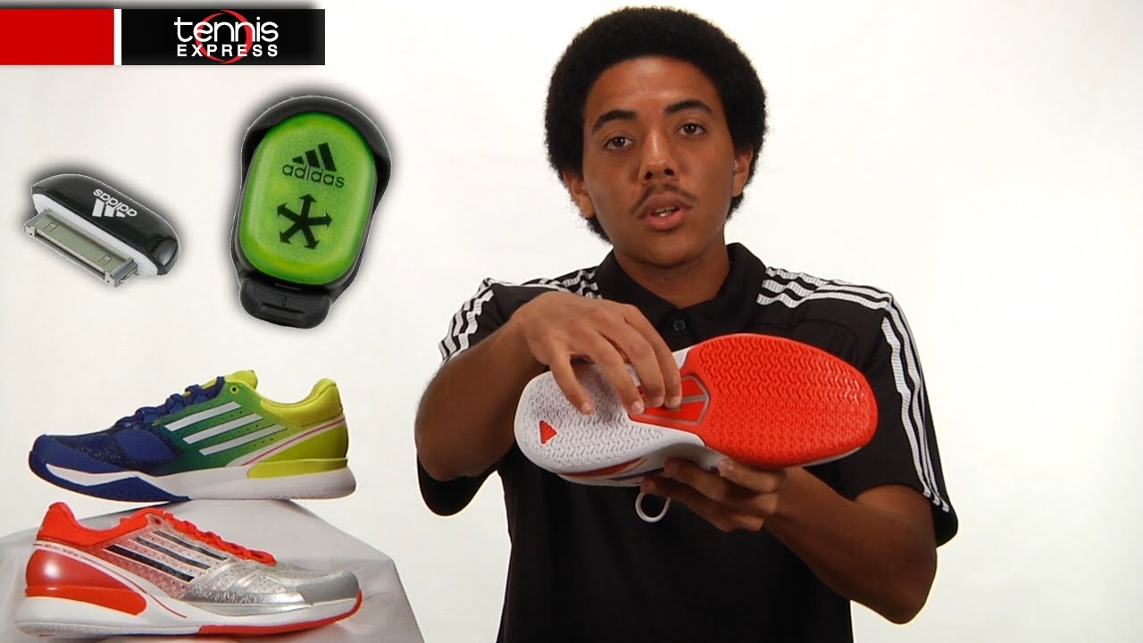 big sale 96b2f b54d1 Tennis Express  Shoe Guide  adidas adizero Feather II - YouT