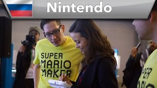 Nintendo at Comic Con Russia 2015 - Part 1 (featuring Summer Glau)