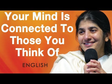 Your Mind Is Connected To Those You Think Of: BK Shivani At Sydney (English)