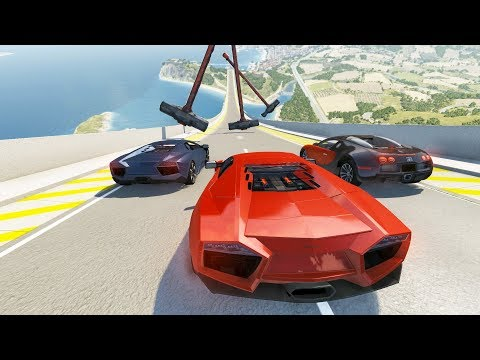 High Speed Jump Crashes BeamNG Drive Compilation #28 (Beamng Drive Crashes)