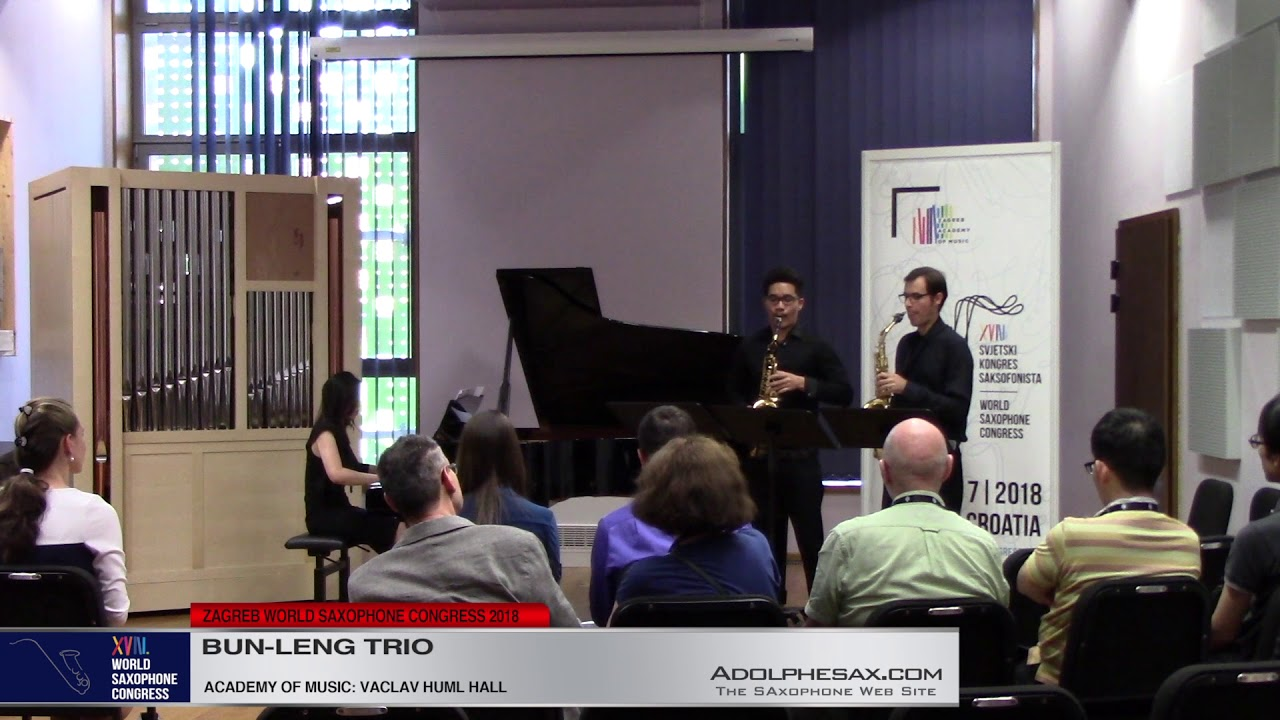 Porgy Stride by Christian Lauba    Bun Leng Trio   XVIII World Sax Congress 2018 #adolphesax