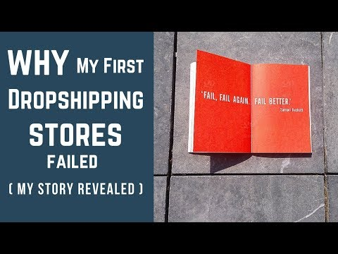 Why My First Dropshipping Stores Failed (My Story Part 1)
