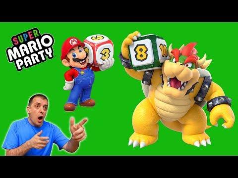 EDU vs LA AZAFATA en Super Mario Party