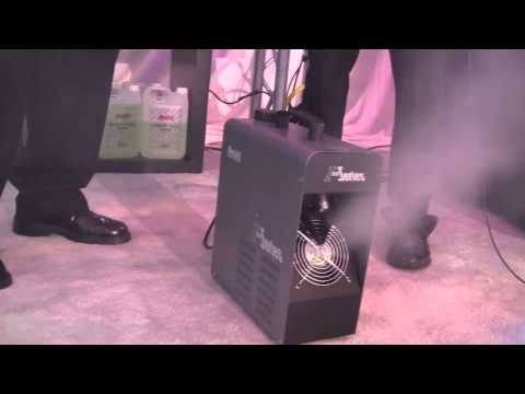 NAMM 2013 | Antari Z350 Phaser Haze Machine | Idjnow