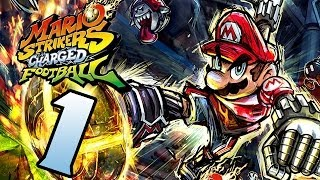 Let's Play Mario Strikers Charged Football Part 1: Striken mit dem Charged Ball