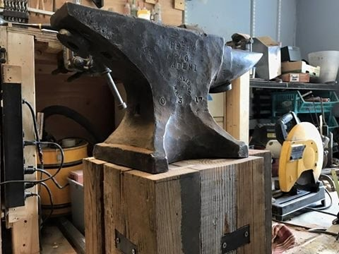 Repeat Anvil stand build by theold saltminer - You2Repeat
