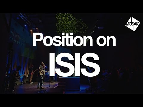Mosaic Charlotte | Position on ISIS
