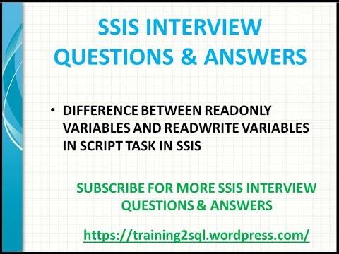 SSIS Interview Questions Part 1 MSSQLTips - mandegar info