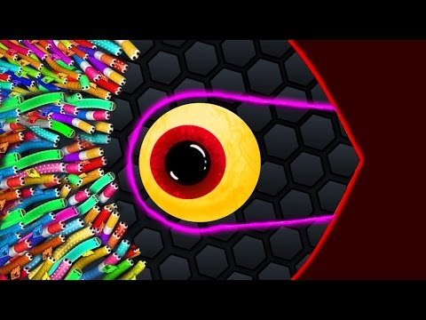 Slither.io - WILDEST HACKER SNAKE vs 10000 SNAKES! Best Slitherio Moments (Slither.io Gameplays)