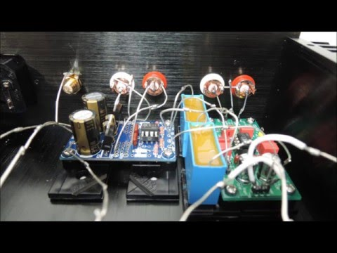 DIY  Phono Preamp (RIAA Equalisation) Project ♪♪