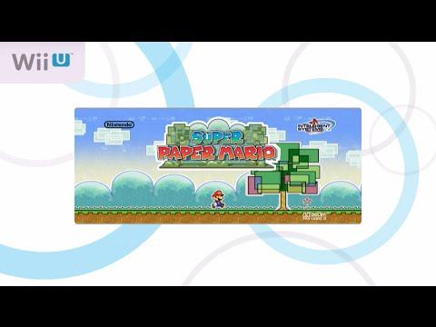 Super Paper Mario (Wii U) First 69 Minutes - Virtual Console - Wii (Wii on Wii U)