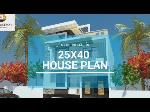 25x40 house plan