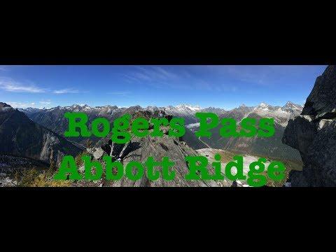 Rogers Pass Abbott Ridge Trail Hiking Glacier National Park