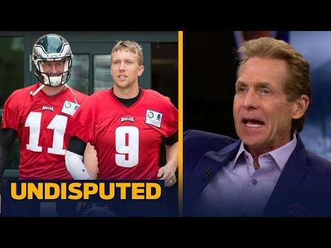 Skip reveals what Carson Wentz's video throwing means for Nick Foles' future in Philly | UNDISPUTED