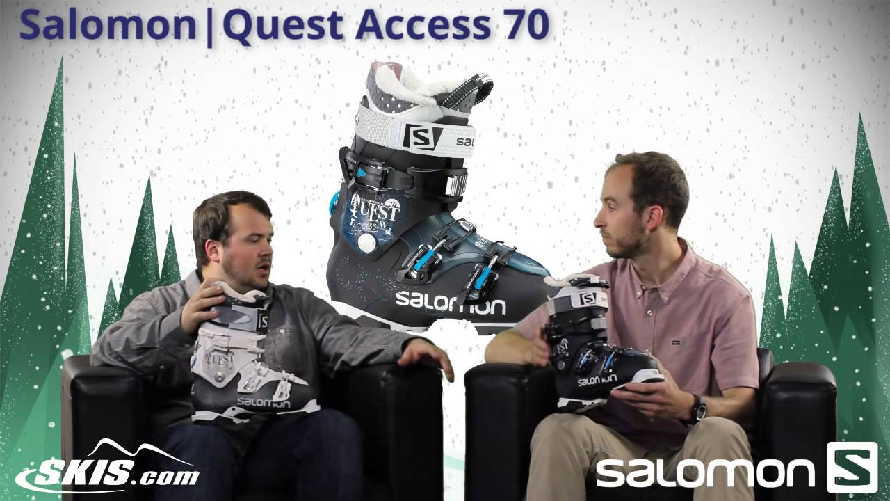 2015 Salomon Quest Access 60, 70, and 80 Womens Boot Overview by SkisDOTcom