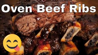 How To Make Oven Barbecued Beef Ribs -- The Frugal Chef