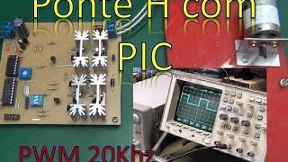 Ponte H PWM para controle de Motor DC