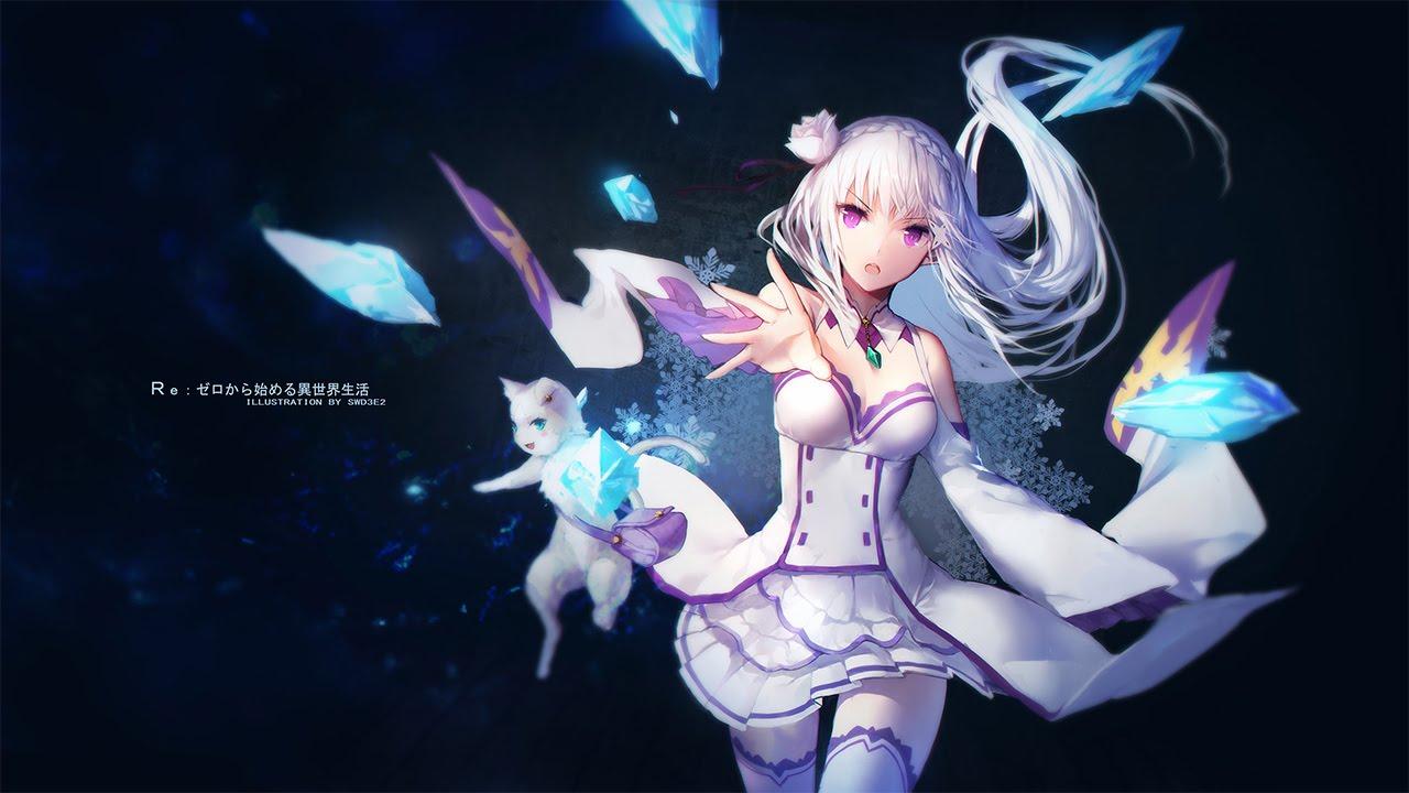 Re:Zero ED / Ending 2 Full『Emilia (Rie ...