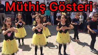 Eğlenceli 23 Nisan gösterisi 2/E Sınıfı Kızıltepe/Mardin