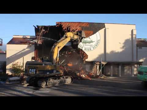 Big Gym Demolition