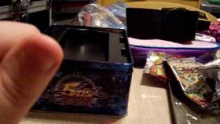 """Opening Exclusive """"Yusei Fudo"""" Tin (2009) - YuGiOh"""