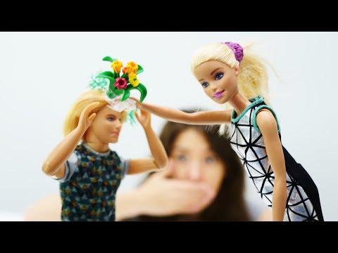 Барби все серии подряд Свадьба Ракель и Кена, игры в куклы Барби ТВ