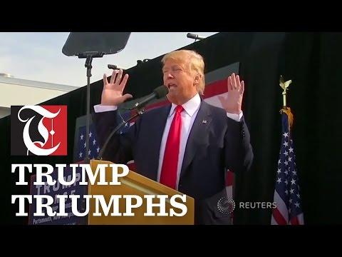 Trump Triumphs