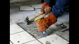 HOW TO REMOVE TILE THE EASY WAY - Be Your Own Handyman @ Home thumbnail