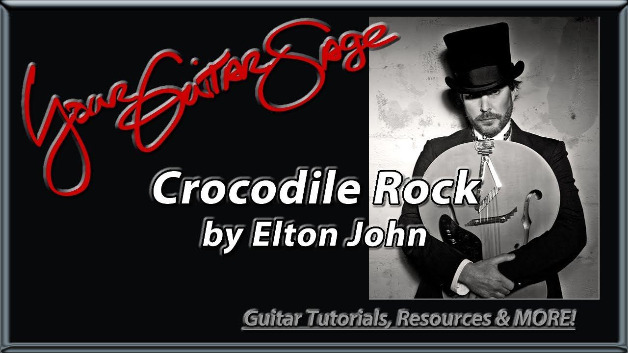 Ygs  Crocodile Rock  Elton John  Beginner Acoustic Guitar Lesson   Youtube