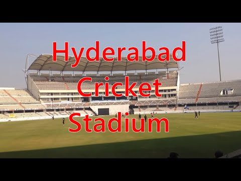 Rajiv Gandhi Cricket Stadium Hyderabad [Uppal] - Look, Details