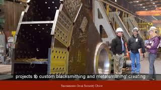 Sacramento Iron Security Door